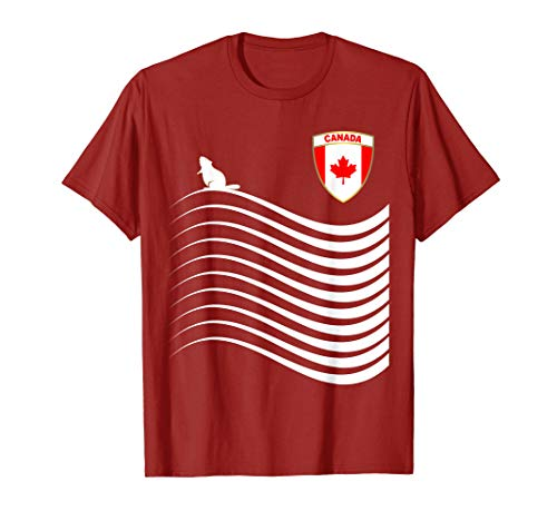 Canada Soccer Jersey Canadian Football T-Shirt