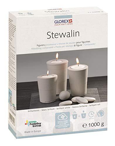 Glorex GmbH 6 2608 450 Stewalin Gießmasse, 1000 g, weiß
