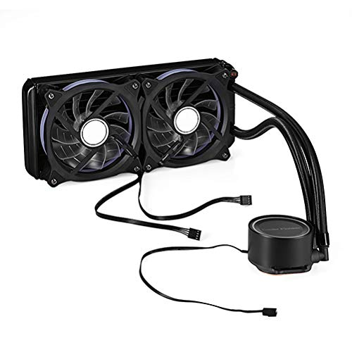 BETAZOOER 240mm Liquid CPU Cooler, Dual ML120 PWM Fans, Intel LEA2066, 2011-V3, 1151/1155/1156/X58/X79, AMD Socket AM4 …