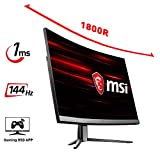 MSI (MSIBD) OPTIX MAG241C Ecran PC LED-VA 23.6' 1920 x 1080 Pixel 1 ms Noir