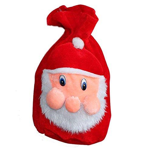 LD decorazioni di Natale da donna uomo costume di Babbo Natale Natale Santa bambini Outfit Christmas Bag Tasche Xmas Bag