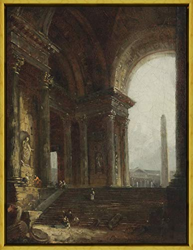Berkin Arts Framed Hubert Robert...