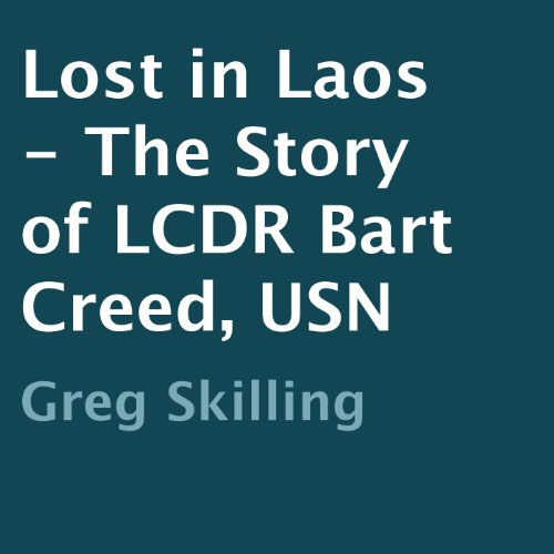 Lost in Laos audiobook cover art
