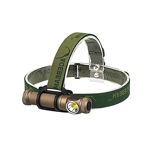 Acebeam H10 Headlamp Cree MT-G2 Q0 LED -2000 Lumens (Available in Silver/Sand Colors)