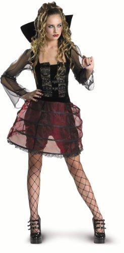 CesarC452-001 Mädchen-Kostüm–Vampirin
