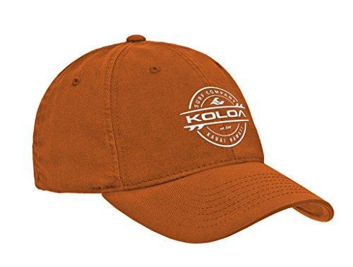 Koloa Surf Thruster Logo Classic Cotton Dad Hat-Texas/w