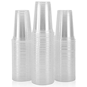 Plastic Cups 100 Pack 12 Oz Clear Plastic Cups Plastic Cups 12 Oz Clear Cups Disposable Clear Plastic Cups Water Cups Disposable Cups 12 Oz Water Clear Plastic Cups Clear Plastic Cups Plastic Cups