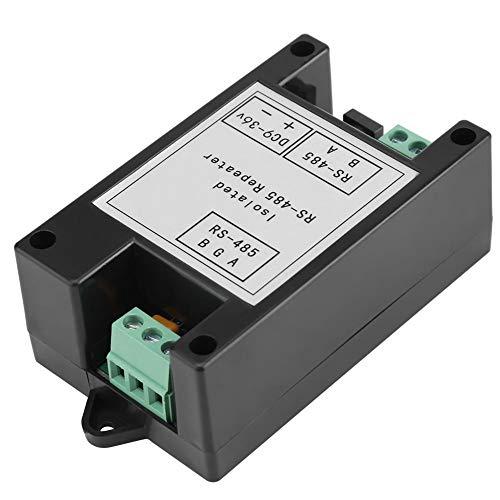 Repetidor RS-485, Amplificador de repetidor de señal 9V-36V DC 0.36W Extensor de distancia aislada de grado industrial para el sistema de servicio de comedor de estacionami