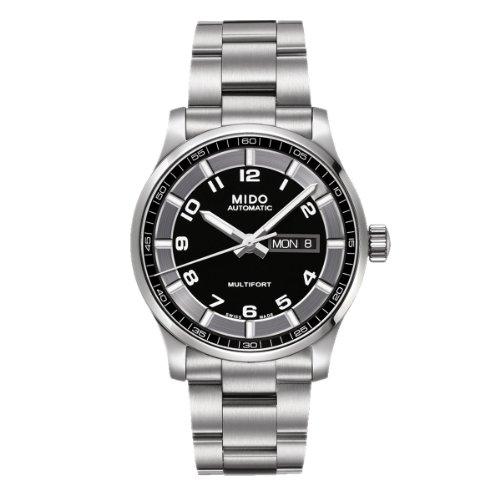 MIDO Reloj Análogo clásico para Hombre de Automático con Correa en Acero Inoxidable M005.430.11.052.80