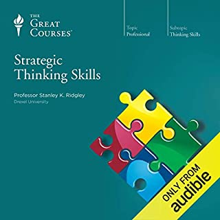 Strategic Thinking Skills audiobook cover art
