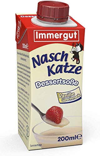 Immergut Naschkatze Vanillesoße (6 x 200ml)