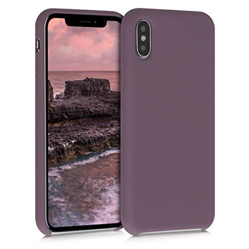 kwmobile Cover Compatibile con Apple iPhone X - Cover Custodia in Silicone TPU - Back Case Protezione Cellulare UVA