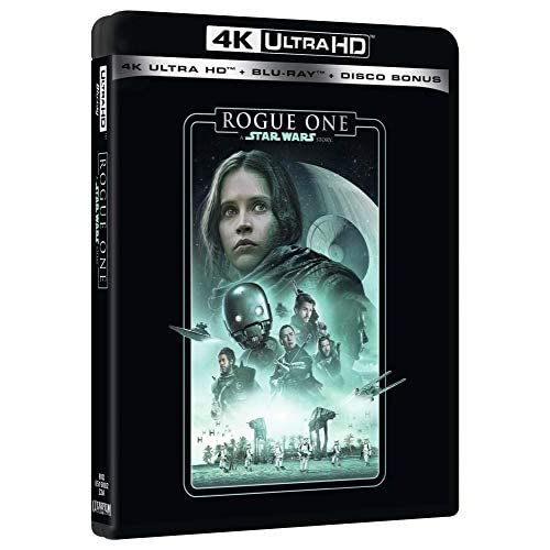 Star Wars Story Rogue One Uhd 4K (3 Blu Ray)