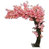 LOMJK Árboles Árbol de Cerezo Artificial Falso de la Planta Decorativa árbol Falso, Flor de Seda deseando árbol para la decoración de la Sala de Boda al Aire Libre Interior