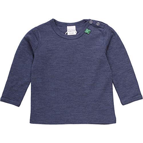 Fred'S World By Green Cotton T T- Shirt, Bleu (Navy Mélange 207680001), 74 Mixte bébé