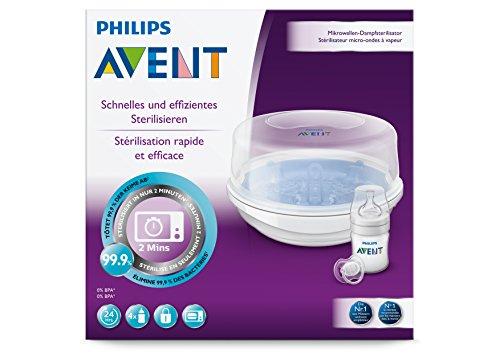 Philips Avent SCF282/22 Mikrowellen Dampfsterilisator - 4