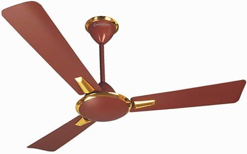 Crompton Aura High Speed Decorative Ceiling Fan - 1200 mm (Brown)