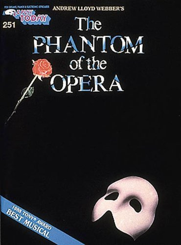 EZ Play Today 251-Andrew Lloyd Webber's-The Phantom of the Opera-Organ/Piano/Electronic Keyboard-Music Book by Lloyd, Webber (1990) Paperback