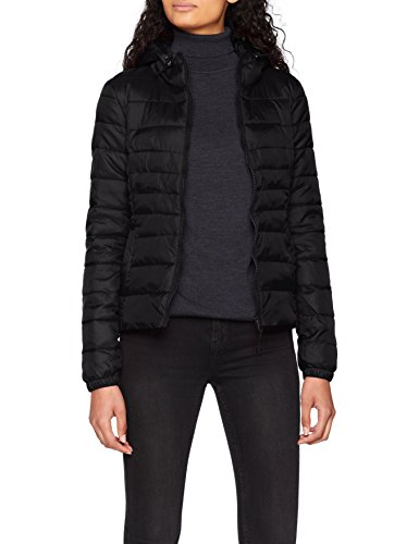 ONLY Damen Onltahoe Hood Jacket Otw Noos Jacke, Schwarz (Black Black), Medium