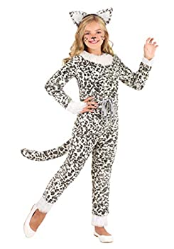 Snow Leopard Costume for Girls Small