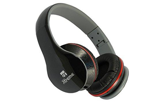 Xtreme 33663 Cuffia Seattle Audio & Talk Ripiegabile, Connettore Jack 3,5 mm, Cavo da 1,2 mt, Diametro 40 mm