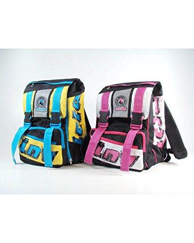 zaino scuola circuit backpack square colori assortiti