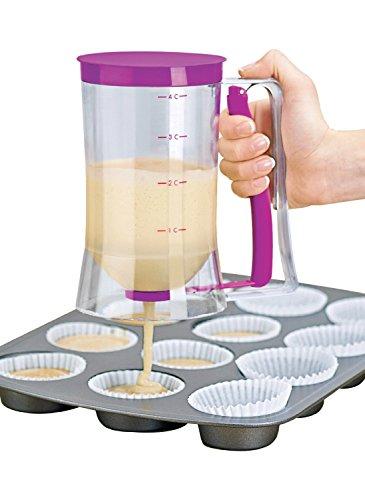 Itian Cupcake Sonder Batter Spender 4-Cup-Kapazität