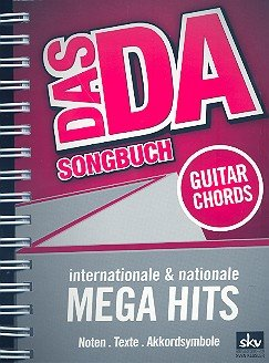 DAS DA - Songbuch mit über 170 internationalen & nationalen Megahits [Musiknoten] (Ringbindung)