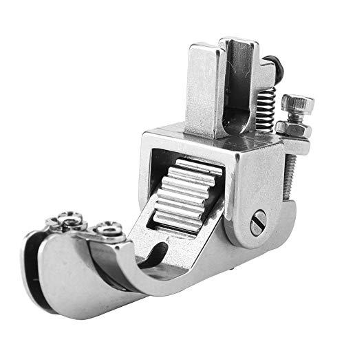 Prensatelas de Rodillo Ajustable Prensatelas de Dobladillo Enrollado Prensatelas de Máquina de Coser Prensatelas Para Cuero Paño de Tela Gruesa Recolección, Plisados y Volantes, Costura(#3)