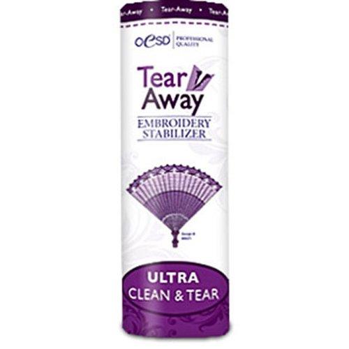 """OESD Ultra Clean & Tear Tear-Away Stabilizer 10"""" x 10 Yard Roll"""