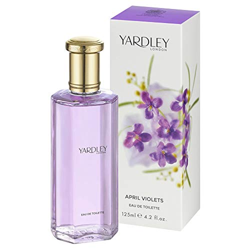 Yardley Londres, abril Violetas, Eau de Toilette Mujeres, 125 ml