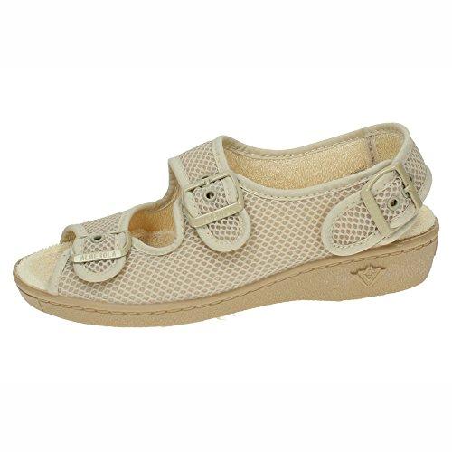 ALBEROLA 67059 Zapatillas Anchas Mujer Calzado Trabajo Crudo 39
