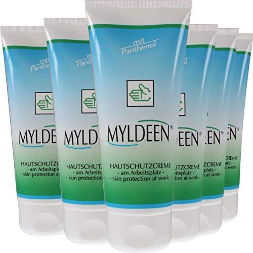 Hautschutz-Creme | Hand-Creme 100 ml | Pflege am Arbeitsplatz, Arbeitsschutzcreme (6 Stück)