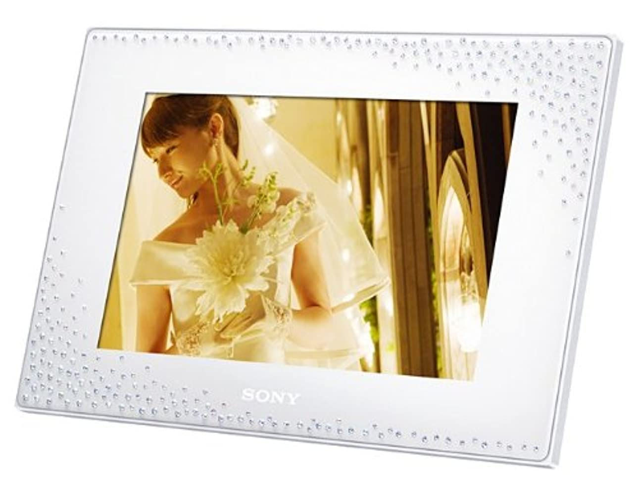 ソニー SONY デジタルフォトフレーム D75 スワロフスキーモデル ホワイト DPF-D75/WZ