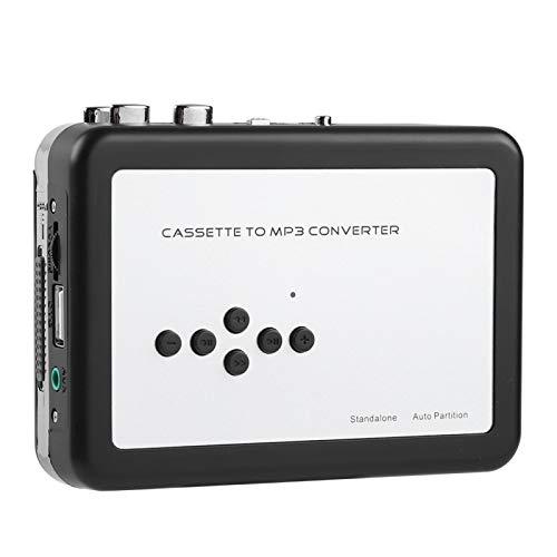 Socobeta Convertitore da Cassetta a MP3 Plug And Play Driver Flash USB Nessuna unità Richiesta Ricarica Facile per XP/Vista / 7/8