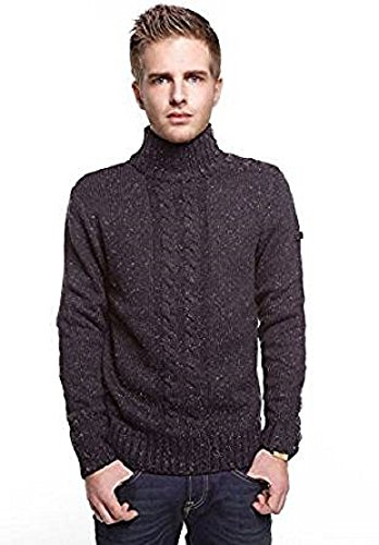 Lee Cooper Pull Davy 2139 Homme - Couleur: Noir - Taille: XXL