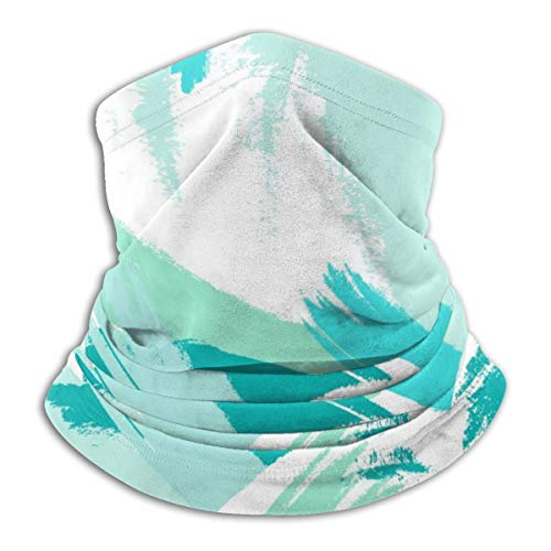 Akhy Multifunctional Headwear Face Mask Headband Neck Gaiter Hipster Pattern with Brush Strokes Balaclava for Men and Women