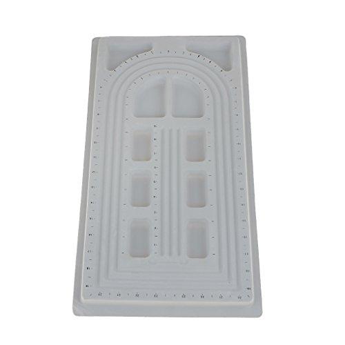 Generico Esposizione Gioielli Perline PLASTICA Board Design Vassoio Organizzatore L