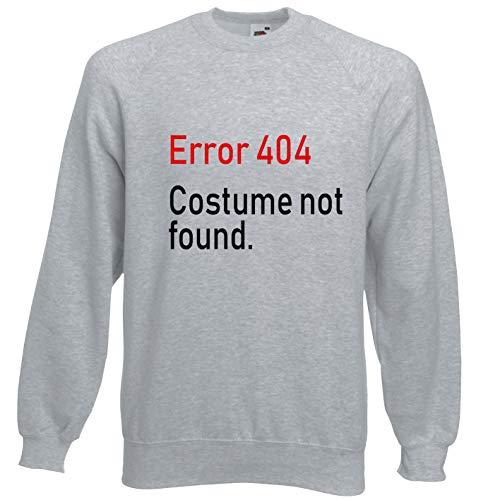 Viper Fout 404 Kostuum Niet gevonden Grappig Sweatshirt