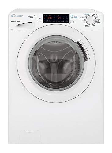 Candy GVS44138 Libera Installazione Caricamento Frontale 8kg 1300giri/min Classe A+++ Lavatrice Bianco