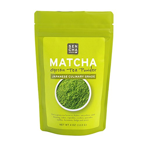 Sencha Naturals Culinary Grade Organic Matcha Powder, 4 oz