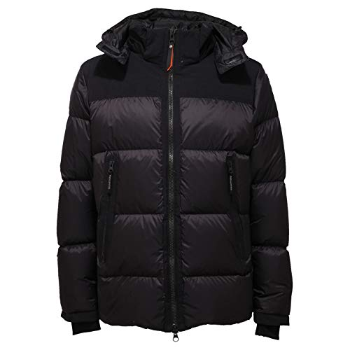 Parajumpers 2832AC Piumino Uomo Endurance Black Double Fabric Jacket Men [M]