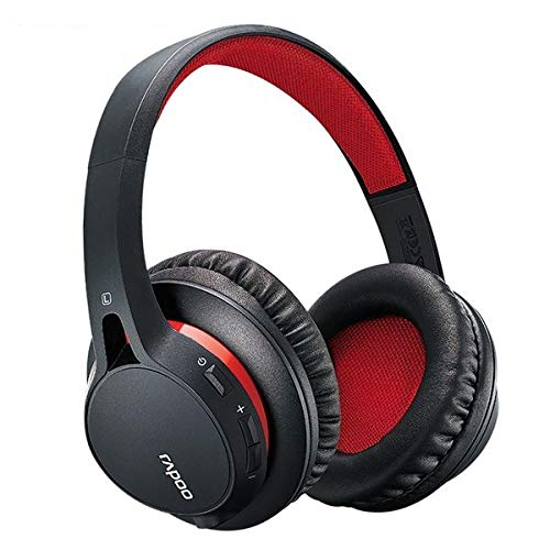 Rapoo S200 Bluetooth Over-Ear Headset rot