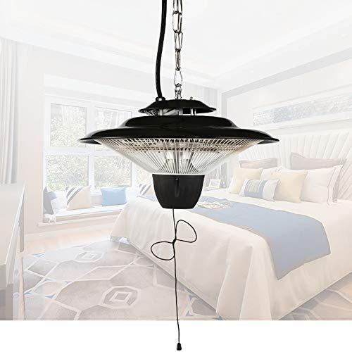 FMXYMC Gazebo Heaters Outdoor, Hanging Patio Heater, 2500W Electric Infrared Halogen Heaters Lamp, Ceiling Mounted Outdoor/Indoor Heating, for Garden Balcony Courtyard