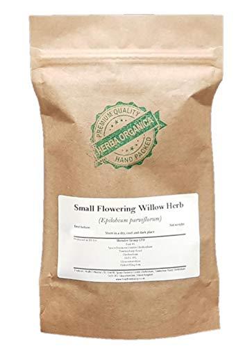 Herba Organica - Epilobio Hierba - Epilobium parviflorum - Small Flowering Willow Herb (100g)