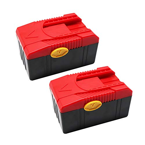 FengWings 2 Pack 18V 3.0Ah CTB6187 CTB6185 CTB4187 CTB4185 Li-ion Replace Battery Compatible with Snap On CTC620 CTCFA620 CTCFE620