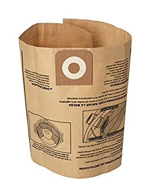 CRAFTSMAN CMXZVBE38749 General Purpose Wet/Dry Shop Vacuum Dust Collection Bags for 16 and 20 Gallon Shop Vacuums, 3-Pack