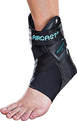 Aircast Airlift PTTD Ankle Support Brace, Left Foot, Medium