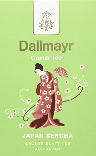 Dallmayr Grüner Tee - Japan Sencha, 8er Pack (8 x 100 g )