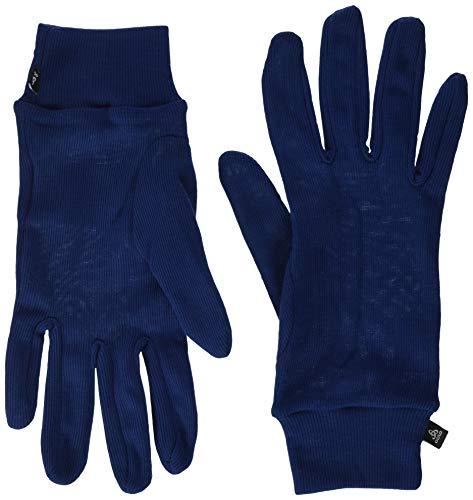 Odlo Gloves Originals WARM Handschuhe, Estate Blue, M